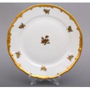 Набор тарелок 19 см. 6 шт. «Роза золотая»