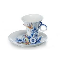 Чашка с блюдцем «Зимняя сказка» 100 мл