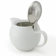 Чайник с ситечком 450мл цвет: Белый