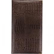 Папка-карта вин «Крокодил» L=33, B=19см; коричнев.