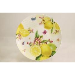 Десертная тарелка «Цитрон» 19 см