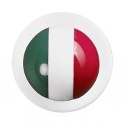 Пукли «Флаг Италии» [12шт], белый,разноцветн.