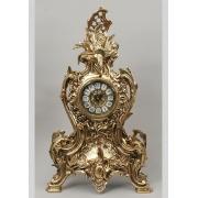 Часы большой золотистый 52х30 см.