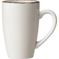 Кружка «Браун дэппл» фарфор; 285мл; белый, коричнев.
