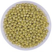 Шарики сахарные для декора 100г, золотой