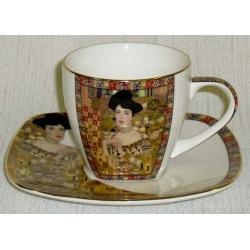 Чашка с блюдцем «Адель»