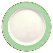 Тарелка сервир «Рио грин» 30см фарфор