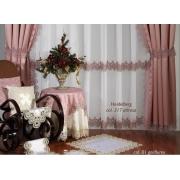 Скатерть «Веймар» 1,7x3,6 розовая