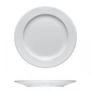 Тарелка мелкая «Карат», фарфор, D=30,H=2см, белый