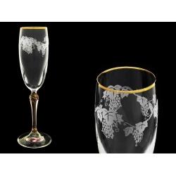 Бокал для шампанского Люция, Розовая лоза