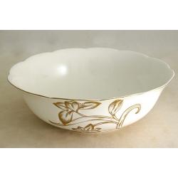 Салатник «Золотой тюльпан» 23 см