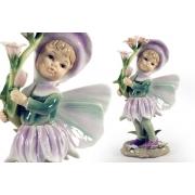 Статуэтка «Девочка - фея» (в розовом)