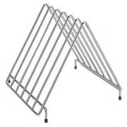 Подставка-сушилка для досок (10отд.), сталь, H=35,L=30,B=35см, металлич.