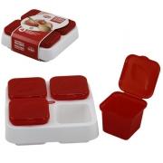 Набор контейнеров 5 пр для заморозки соусов