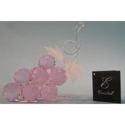 Гроздь винограда розовая d30-11 12х14 см