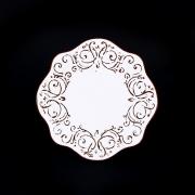 Набор из 4-х тарелок 21см «Романтик»