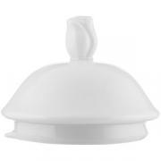 Крышка для чайника арт. 6020 «Афродита» фарфор; белый