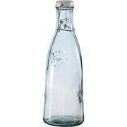 Бутылка с пробкой стекло; 1000мл; прозр.
