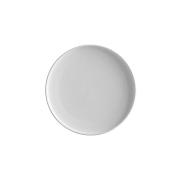 Тарелка закусочная Икра (белая) без индивидуальной упаковки