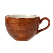 Чашка чайная «Крафт», фарфор, 225мл, D=9,H=6,L=12см, терракот