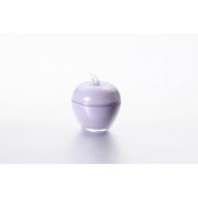 Вазочка с крышкой «Яблоко» 7,5*9 см, цвет: лаванда