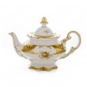 Чайник заварочный 600 мл. «Кленовый лист белый»