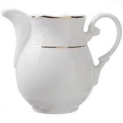 Молочник «Афродита» с зол. 150мл фарфор