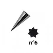 Насадка конд. «7-конечная звезда»; сталь нерж.