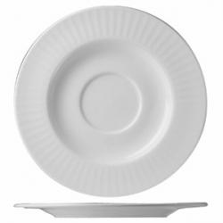 Блюдце «Эвита» d=16см фарфор