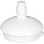 Крышка для чайника «Торино вайт» фарфор; белый