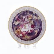Настенная тарелка 32 см «Цветы 5»