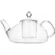 Чайник с ситом термост. стекло, металл; 900мл