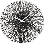 Часы настенные SILK Koziol ø45см (черный)