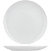Тарелка без борта «Коллаж» D=24, H=2см; белый