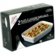 Набор из 2 блюд для лазаньи, 19х13х3,5 см