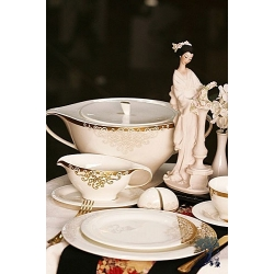 Сервиз столовый на 6 персон, 27 предметов. «Золото Востока»