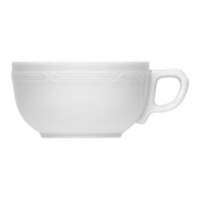 Чашка чайная «Штутгарт», фарфор, 210мл, белый