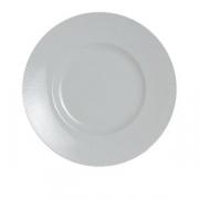 Тарелка мелкая «Соната», фарфор, D=30см, белый