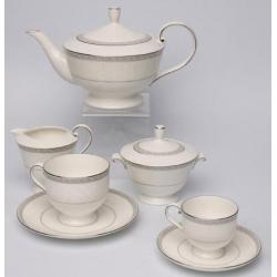 Cервиз чайный на 6 персон, 17 предметов