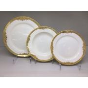 Набор тарелок «Ампир» на 6 персон 18 предметов