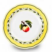 Набор тарелок 17 см. 6 шт «Роза 30200»