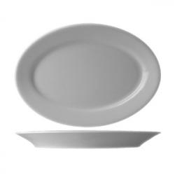 Блюдо овал «Прага» 24см фарфор