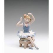 Статуэтка 11,45 см Балерина в голубом платье