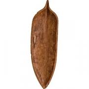 Блюдо «Ива» дуб,махагон
