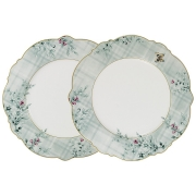Набор из 2-х обеденных тарелок Есения в подарочной упаковке