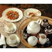 Сервиз чайный 17 предметов на 6 персон «Белый виндзор»