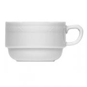 Чашка чайная «Штутгарт», фарфор, 180мл, белый