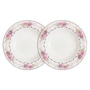Набор из 2-х суповых тарелок Нежность