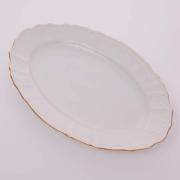 Блюдо овальное 26 см «Бернадот белый 311011»