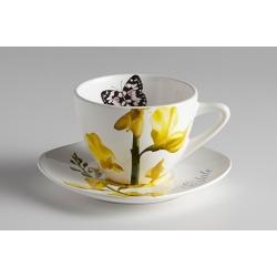 Чашка с блюдцем Лето